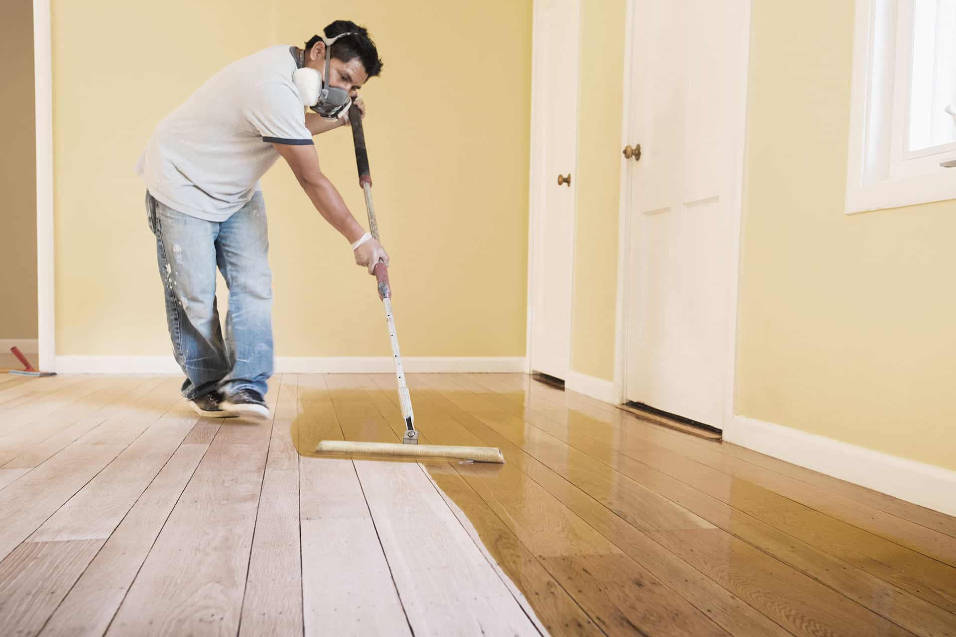 varnishing floors and decorating oxford