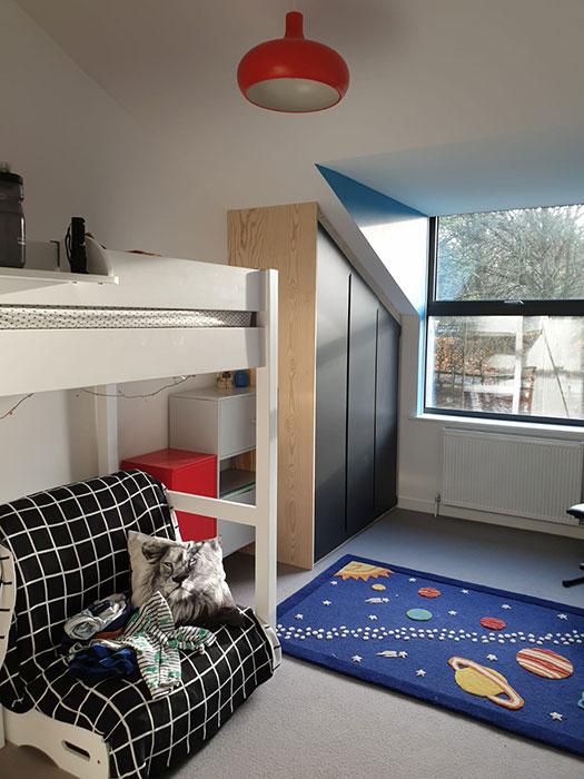 childrens bedroom refurbishment