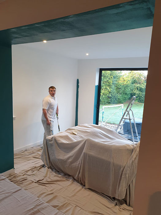 childrens bedroom painting in oxford
