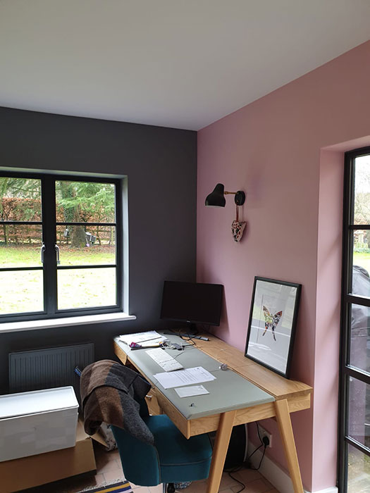 childrens bedroom and study decorating