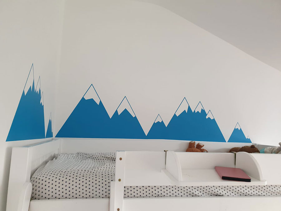 childrens bedroom wall murals