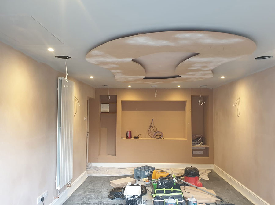 home cinema painting and decorating