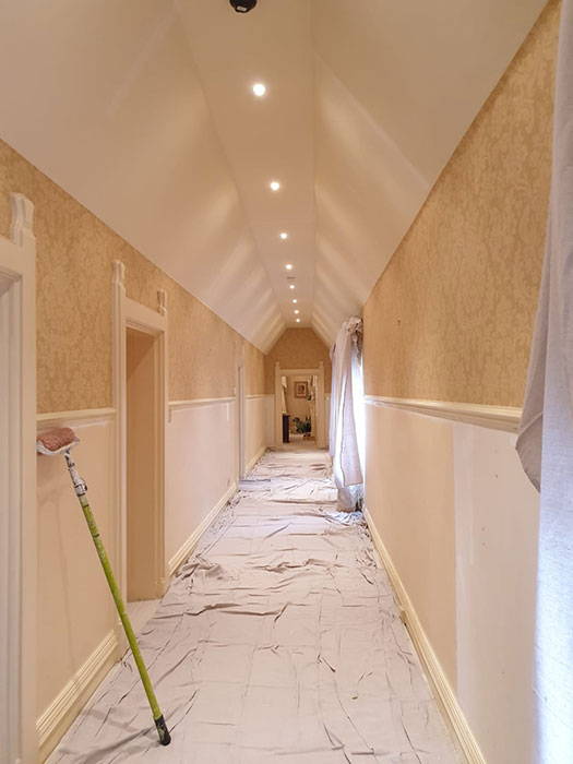 refurbishing rooms at wyfold cour