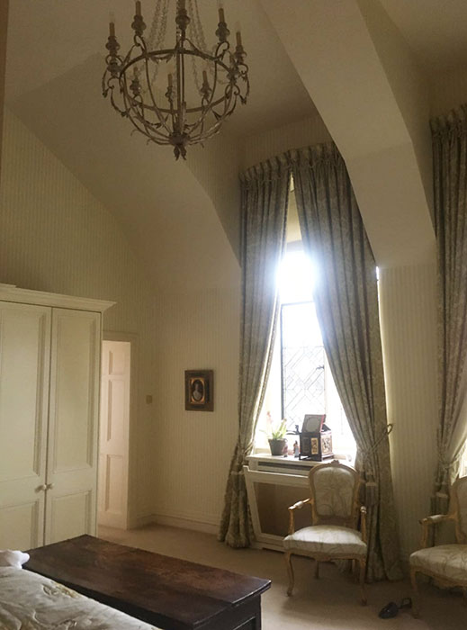 wallpaper and decorating at wyfold court
